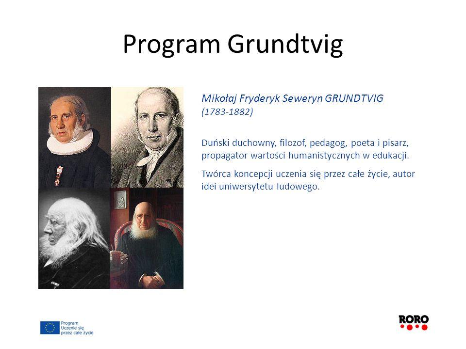 Program Grundtvig Mikołaj Fryderyk Seweryn GRUNDTVIG (1783-1882)