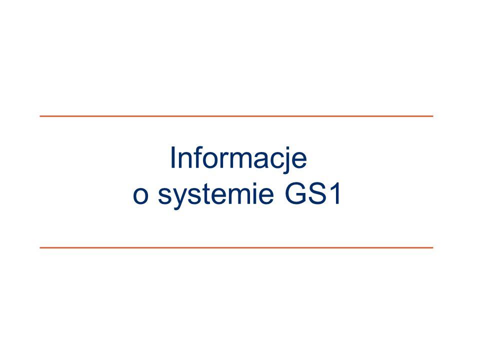 Informacje o systemie GS1