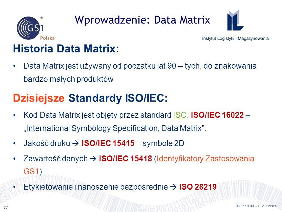 Wprowadzenie: Data Matrix
