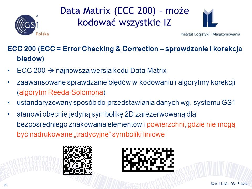 GS1 DataBar i GS1 Data Matrix