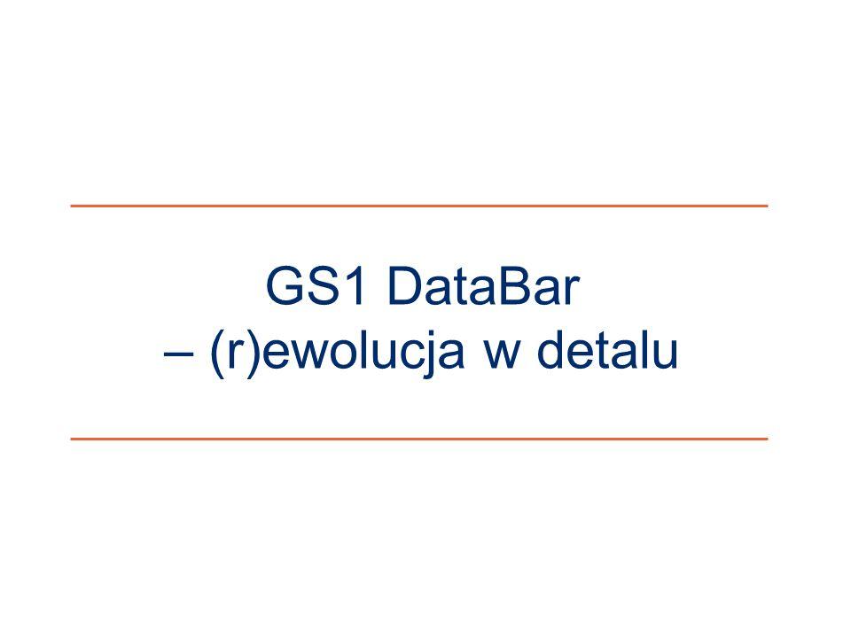 GS1 DataBar – (r)ewolucja w detalu