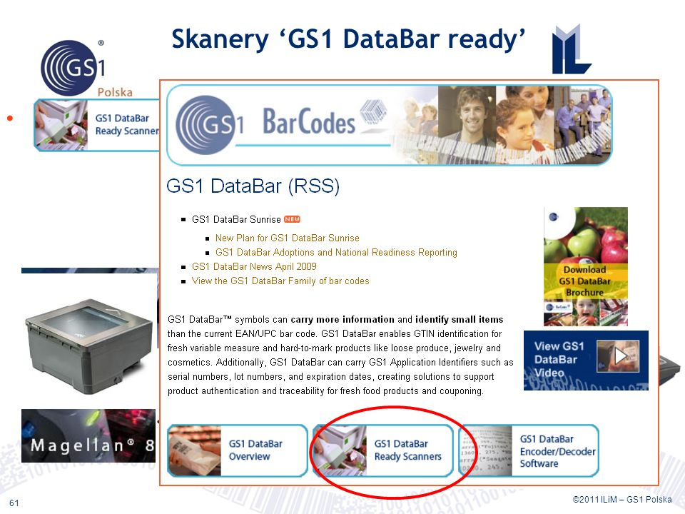 Skanery 'GS1 DataBar ready'