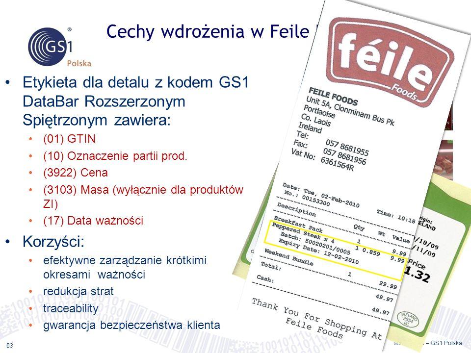 Cechy wdrożenia w Feile Foods