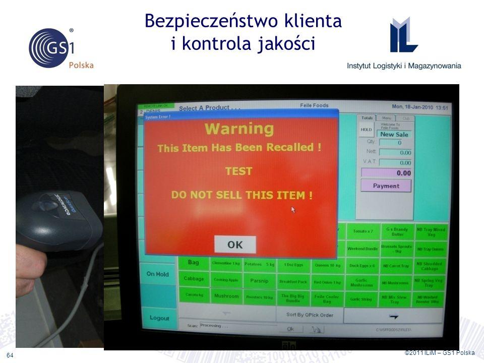 Bezpieczeństwo klienta i kontrola jakości