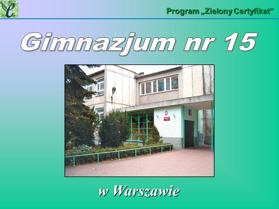 "Program ""Zielony Certyfikat"