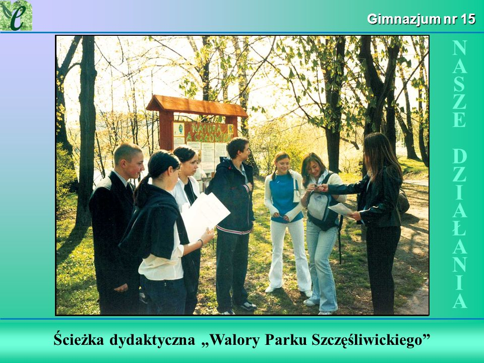 Wybrane działania w ramach zdobywania Zielonego Certyfikatu