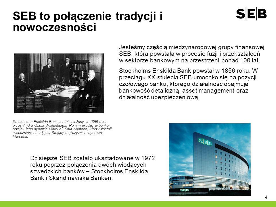 SEB to połączenie tradycji i nowoczesności