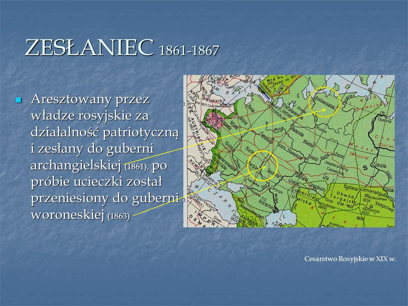 ZESŁANIEC 1861-1867