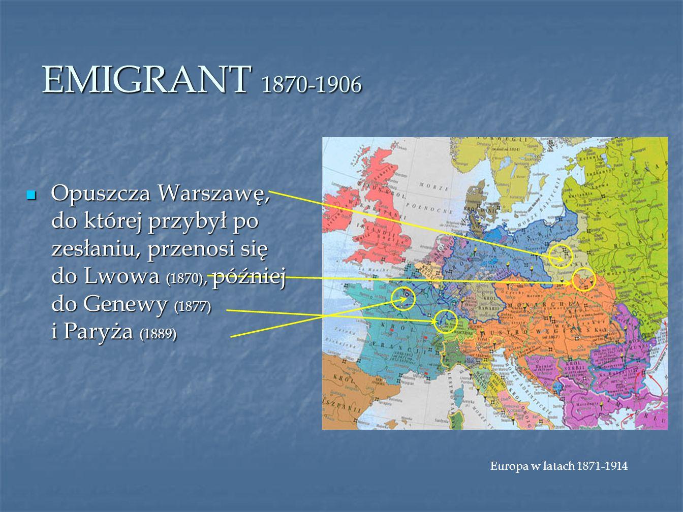 EMIGRANT 1870-1906