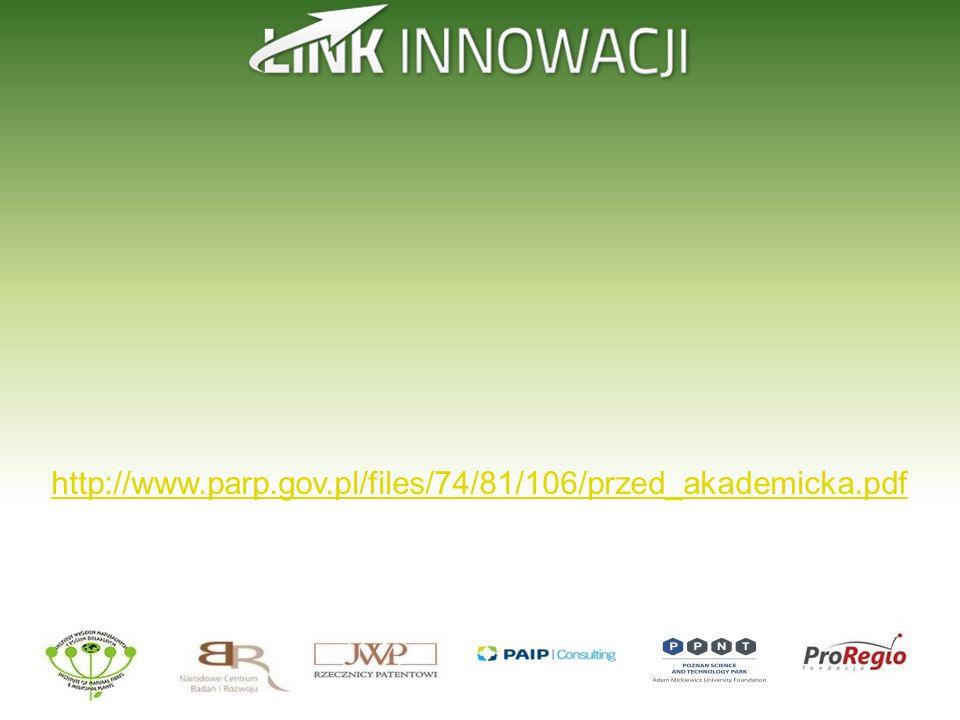 http://www.parp.gov.pl/files/74/81/106/przed_akademicka.pdf