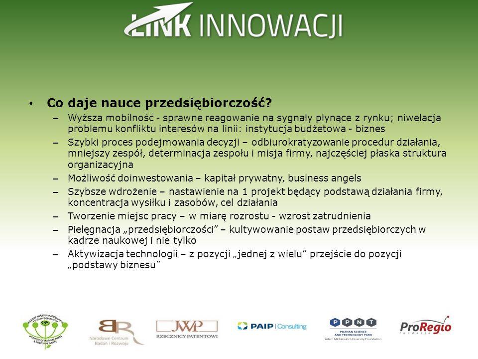 Co daje nauce przedsiębiorczość