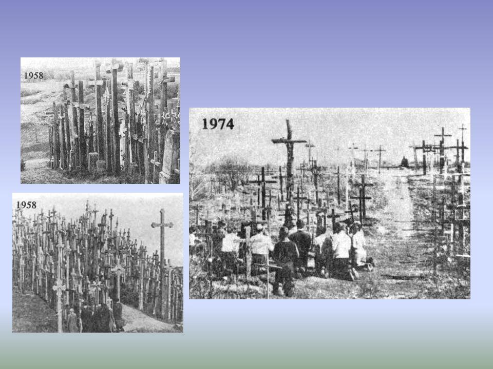 Tragicznym momentem w historii Góry Krzyży były lata komunizmu.