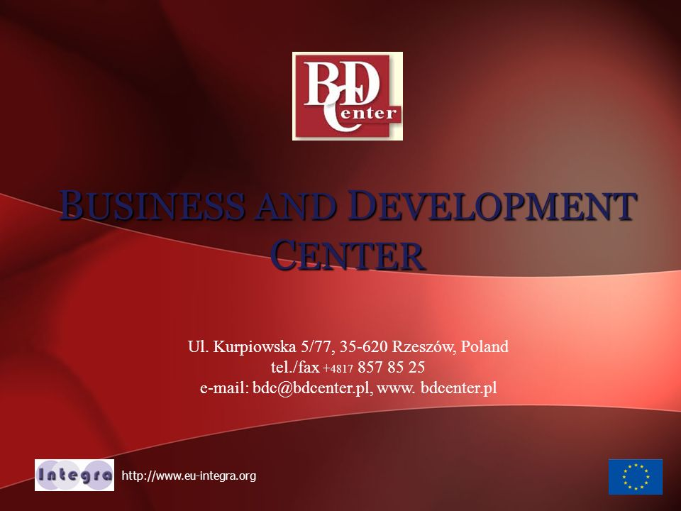 BUSINESS AND DEVELOPMENT CENTER