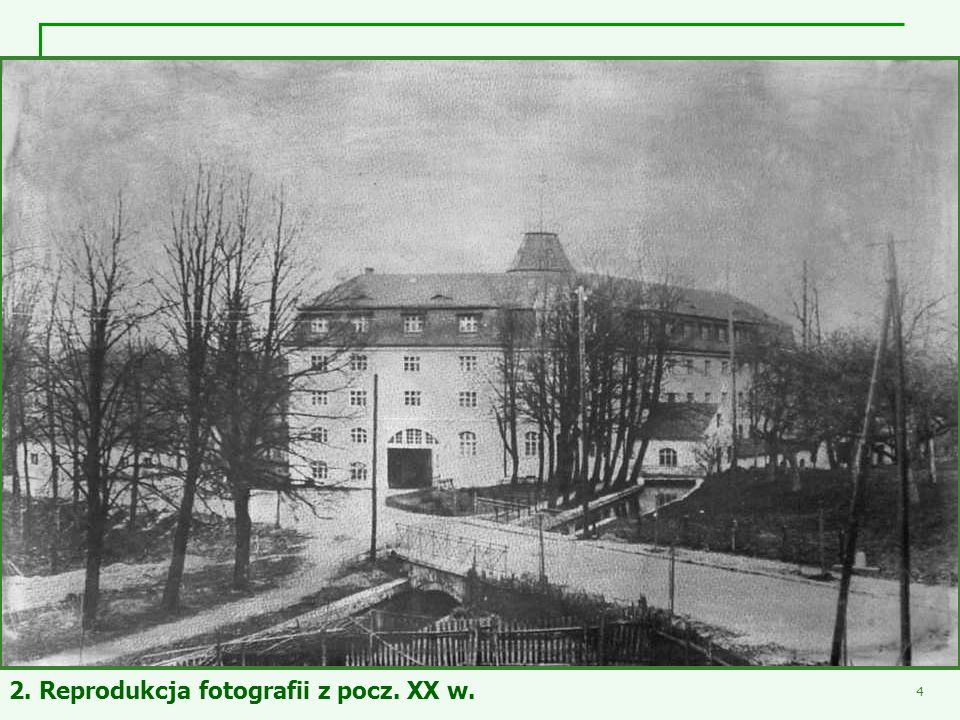 2. Reprodukcja fotografii z pocz. XX w.