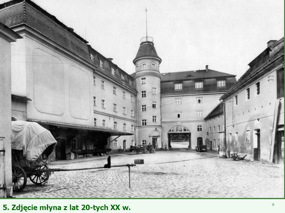 5. Zdjęcie młyna z lat 20-tych XX w.