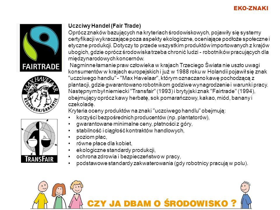 EKO-ZNAKI Uczciwy Handel (Fair Trade)