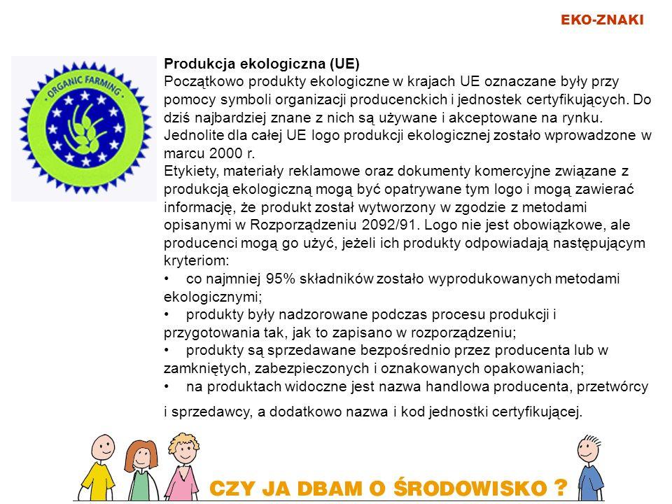 Produkcja ekologiczna (UE)