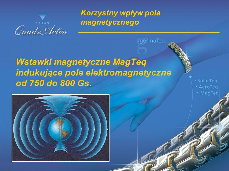 Korzystny wpływ pola magnetycznego