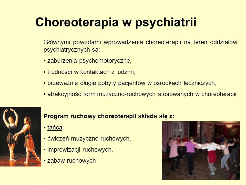 Choreoterapia w psychiatrii