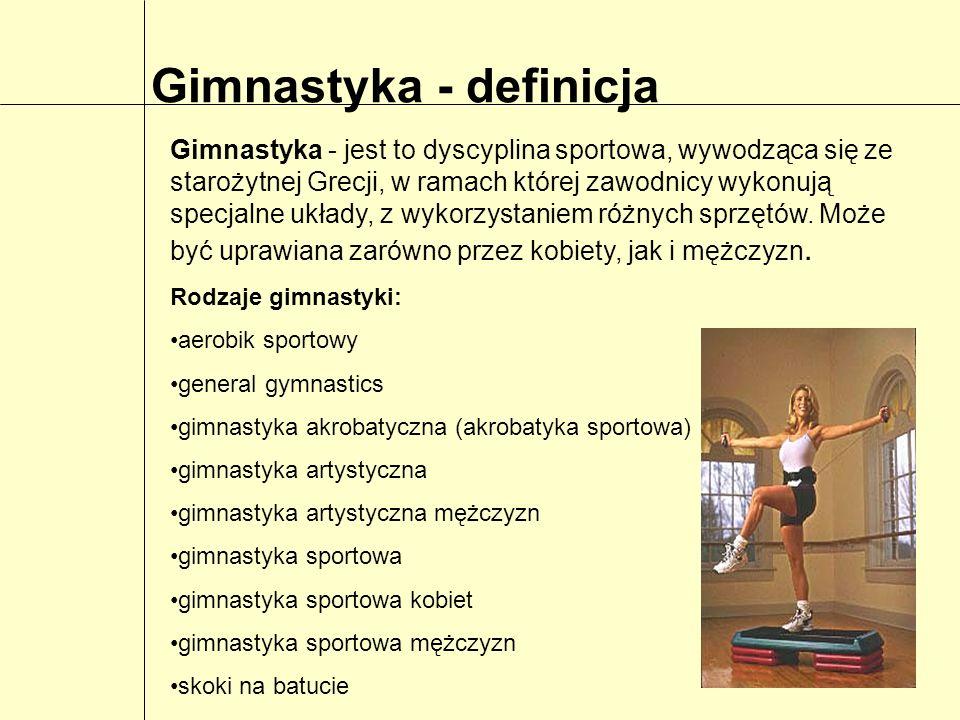 Gimnastyka - definicja