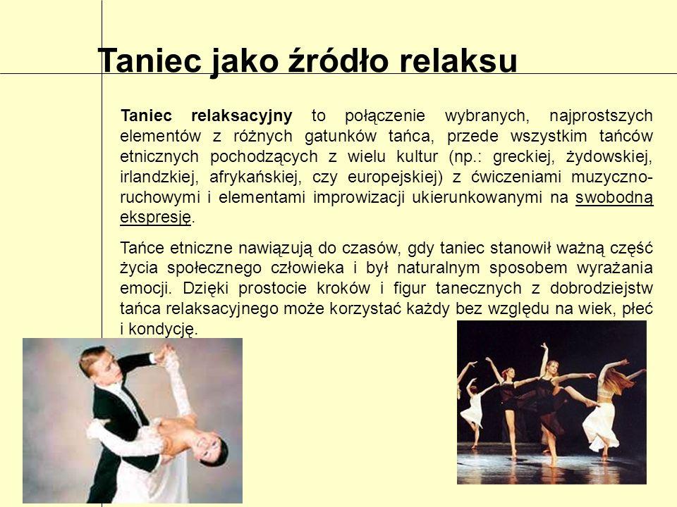 Taniec jako źródło relaksu