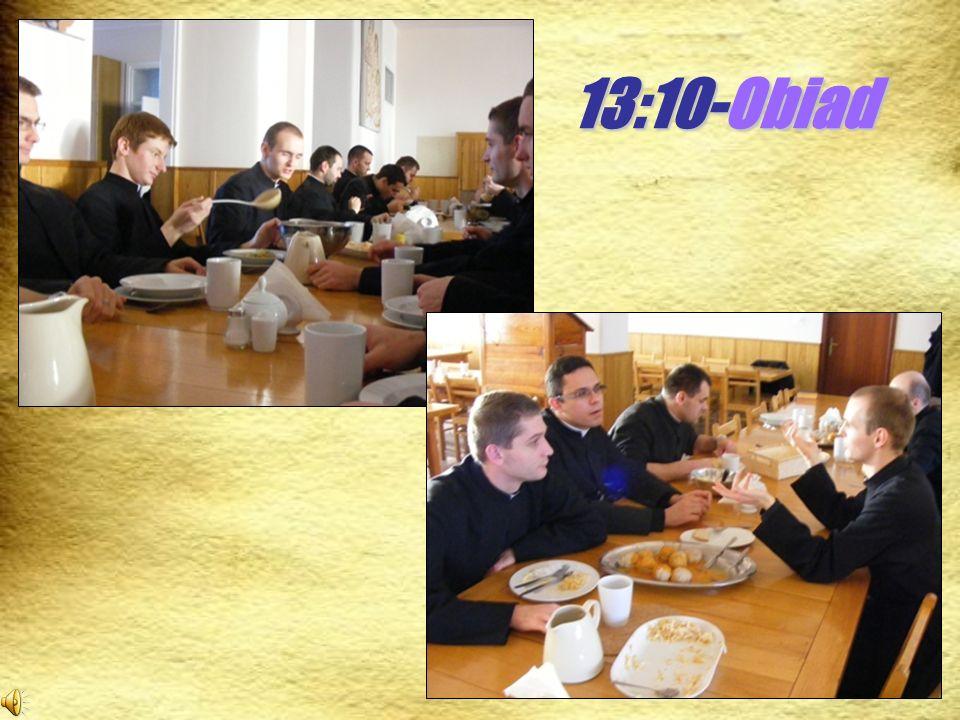 13:10-Obiad