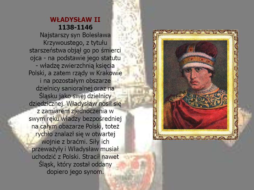 WŁADYSŁAW II 1138-1146