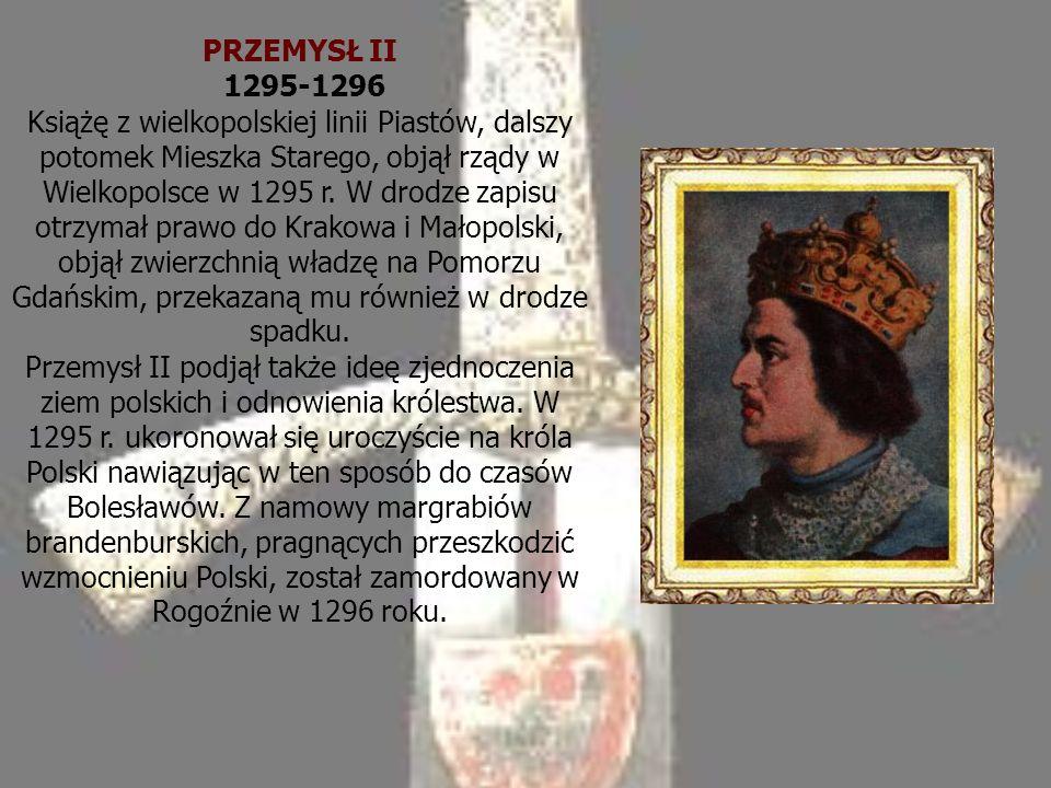PRZEMYSŁ II 1295-1296