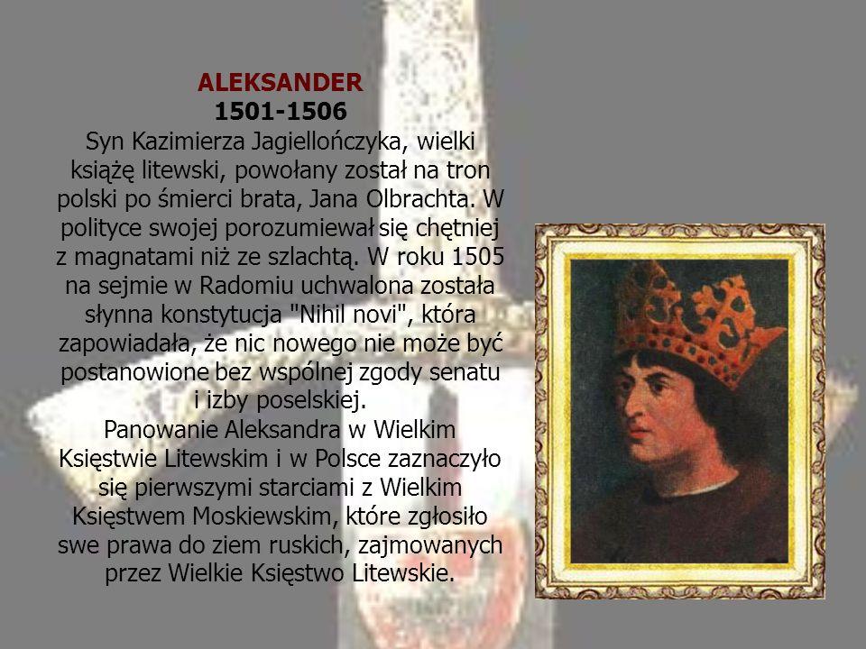 ALEKSANDER 1501-1506