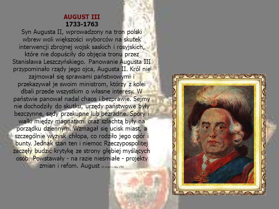 AUGUST III 1733-1763