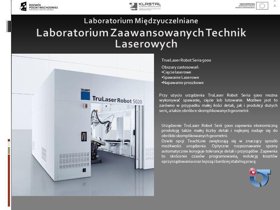 Laboratorium Zaawansowanych Technik Laserowych