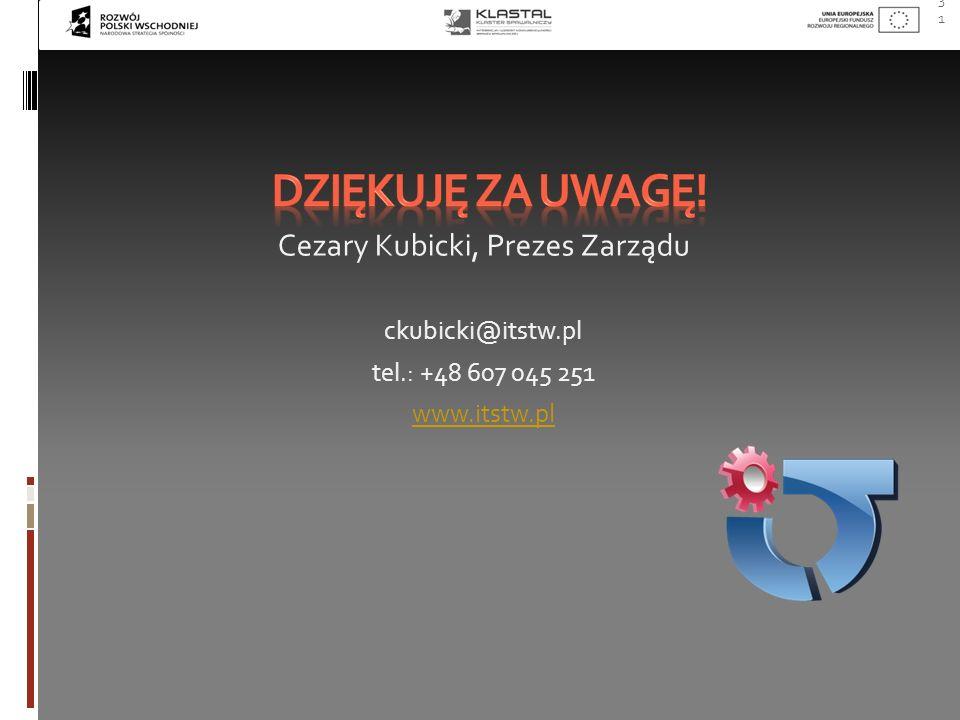 Cezary Kubicki, Prezes Zarządu