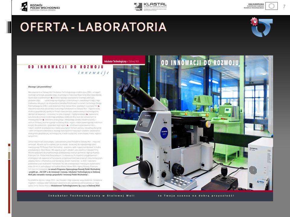 Oferta - laboratoria