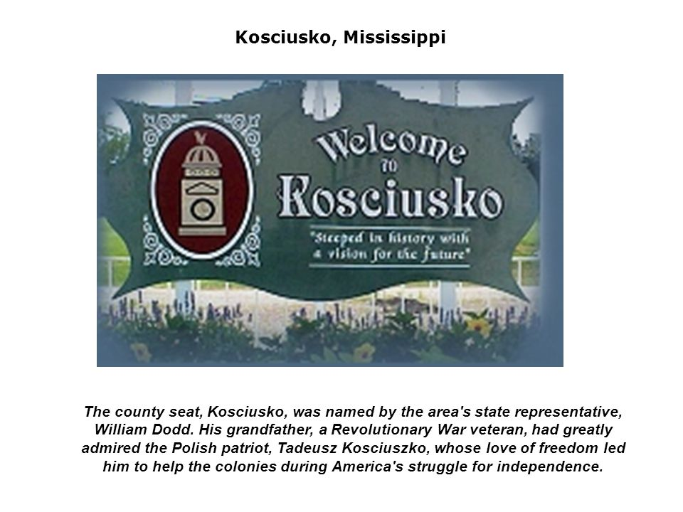 Kosciusko, Mississippi