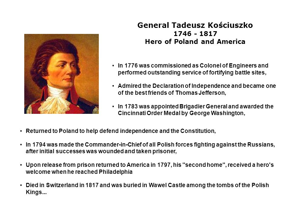 Hero of Poland and America