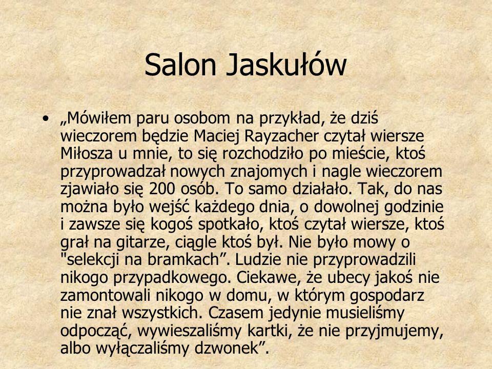 Salon Jaskułów