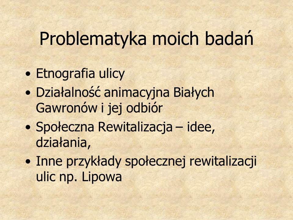 Problematyka moich badań