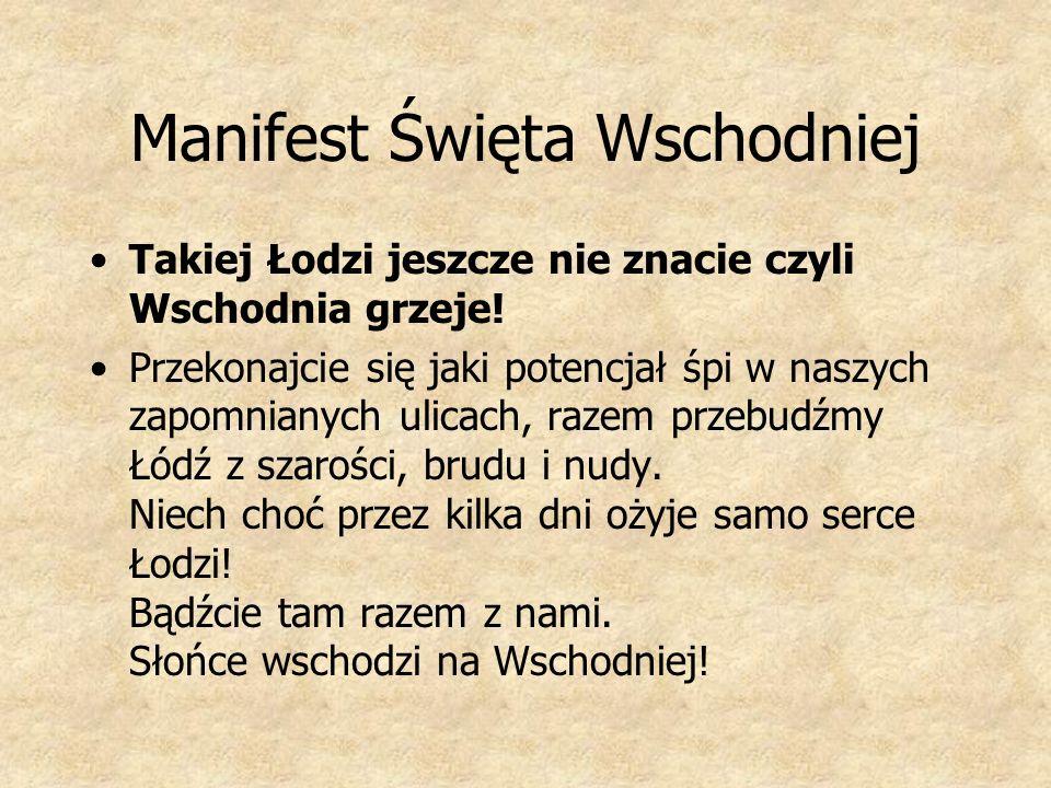 Manifest Święta Wschodniej