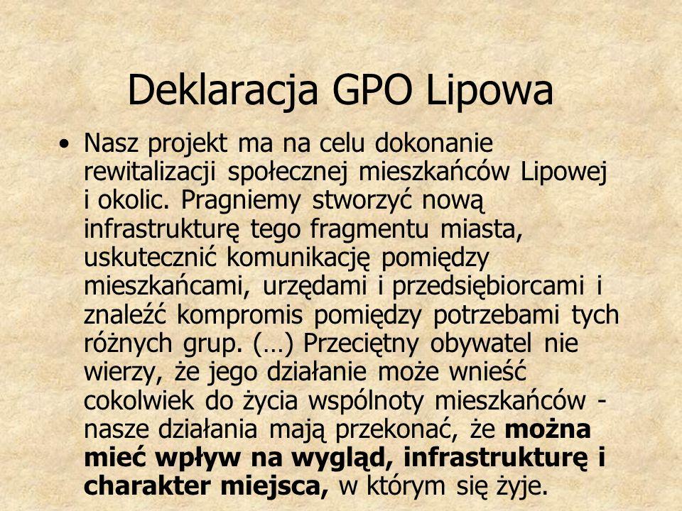 Deklaracja GPO Lipowa