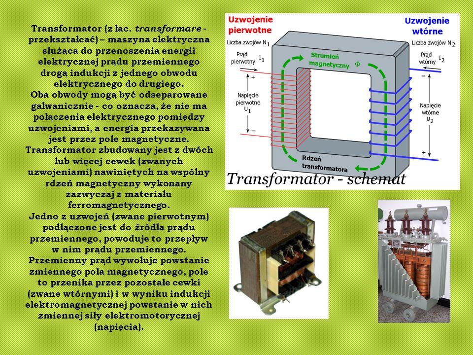 Transformator - schemat