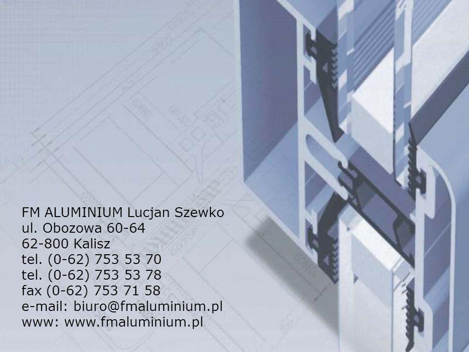 FM ALUMINIUM Lucjan Szewko