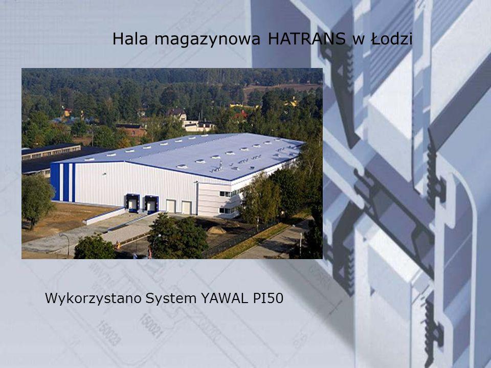 Hala magazynowa HATRANS w Łodzi