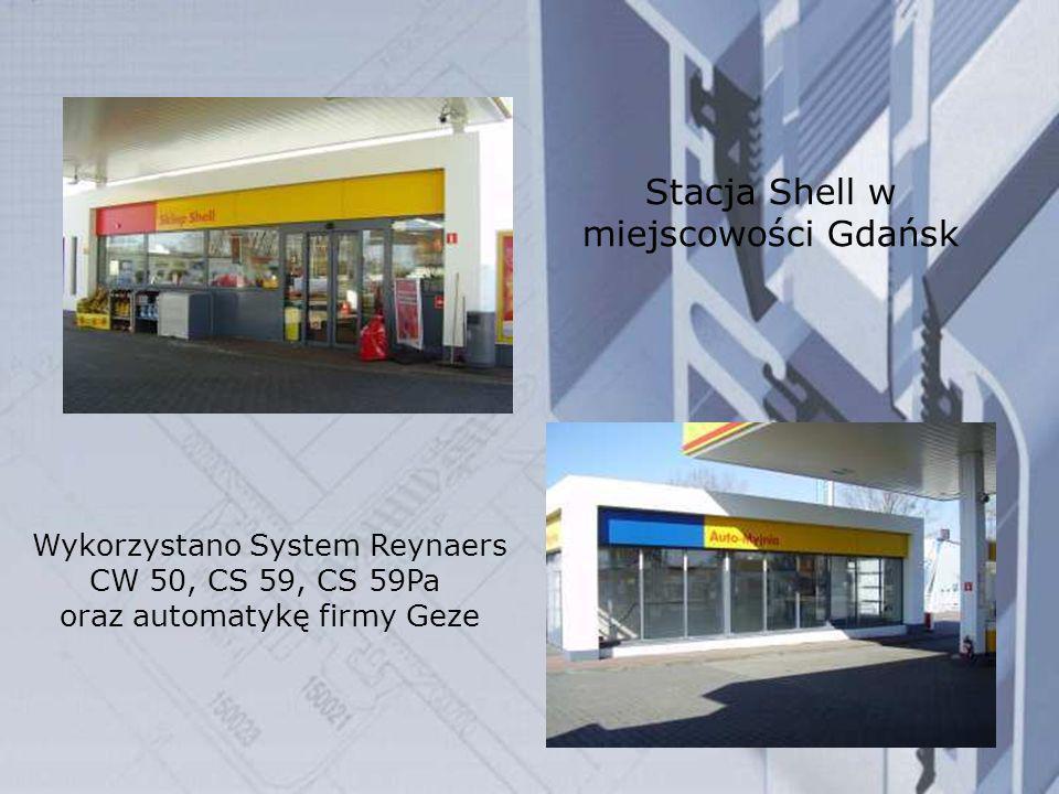 Stacja Shell w miejscowości Gdańsk