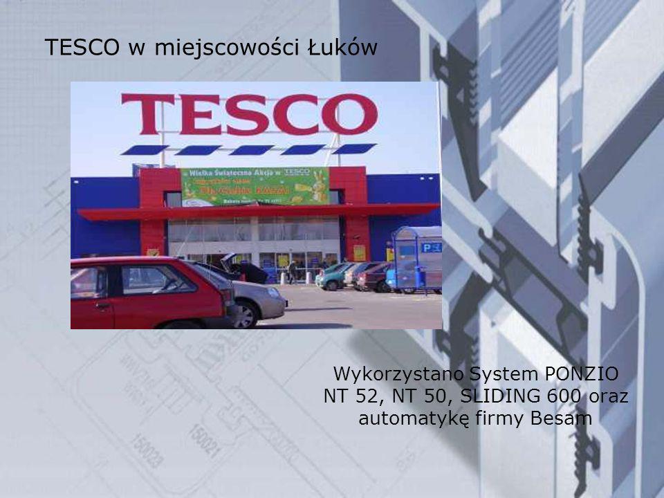 TESCO w miejscowości Łuków