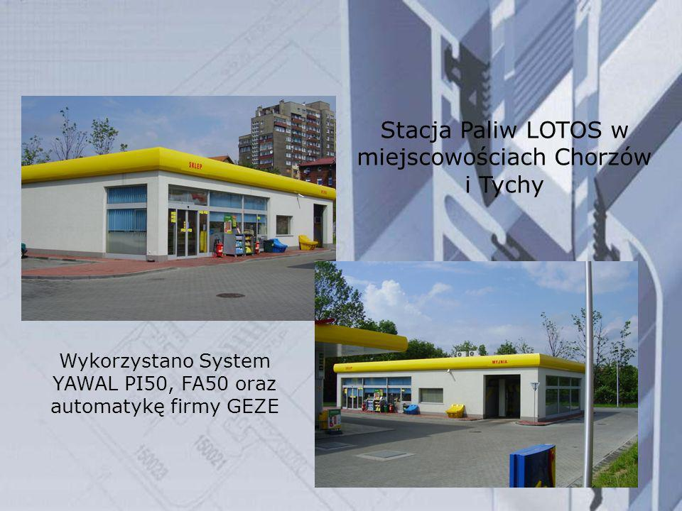 Stacja Paliw LOTOS w miejscowościach Chorzów i Tychy