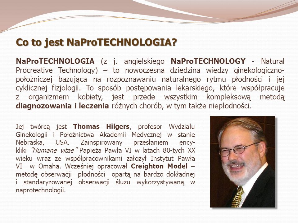 Co to jest NaProTECHNOLOGIA