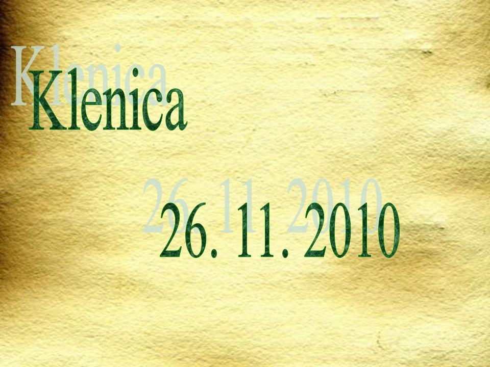 Klenica 26. 11. 2010