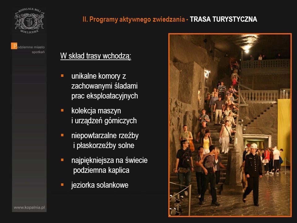 II. Programy aktywnego zwiedzania - TRASA TURYSTYCZNA