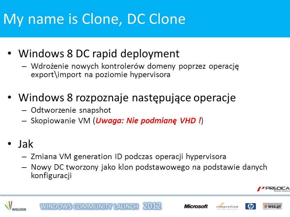 My name is Clone, DC Clone