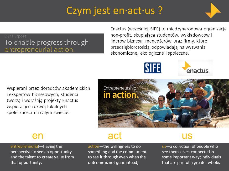 Czym jest en∙act∙us en act us